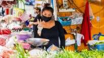 Thailand woman mask COVID