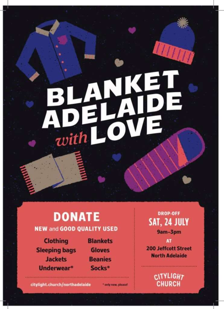 Blanket Adelaide With Love