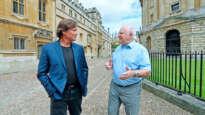 Kevin Sorbo and John Lennox at Oxford University
